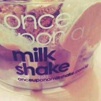 Photo taken at Once Upon A Milk Shake by Vanessa A. on 3/15/2013