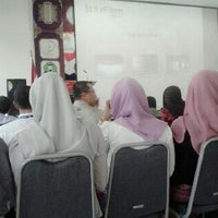 Photo taken at Auditorium FKIP UNSYIAH by Dini F. on 4/15/2013