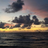 Photo taken at 9th Street Beach by Michael B. on 8/24/2013