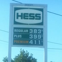Photo taken at Hess Express by Karen L. on 9/15/2012