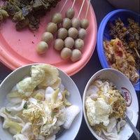 Photo taken at Bubur Ayam Syarifah Jakal by Mrs.Ade E. on 10/22/2012