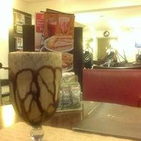 Photo taken at Fran's Café by Mari S. on 12/16/2012
