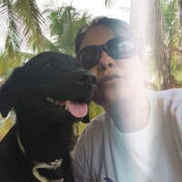 Photo taken at Playa de Boca de Uchire by Aracelis M. on 3/31/2015