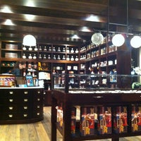 Photo taken at Max Brenner Chocolate Bar by me m. on 7/13/2013