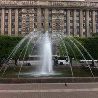 Photo taken at Московская площадь by Андрей К. on 6/13/2013