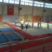 Photo taken at Bornova Stadı by Fulya Z. on 1/30/2013
