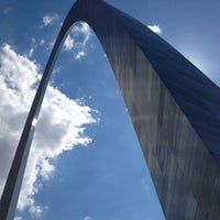 Photo taken at Gateway Arch by Kelly S. on 6/8/2013