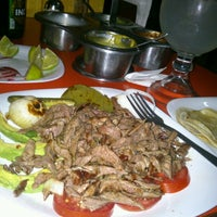 Photo taken at Taquería Los Parados by Lexander X. on 1/25/2013