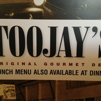 Photo taken at TooJay's Gourmet Deli by Shawn B. on 6/10/2013