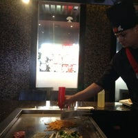 Photo taken at Hayashi Japanese Steakhouse and Sushi Bar by Maraly G. on 1/22/2013