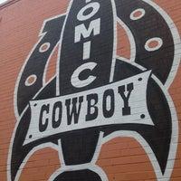Photo taken at Atomic Cowboy by Tom A. on 5/11/2013