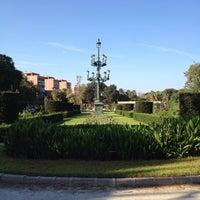 Photo taken at Jardins del Reial - Vivers by Denis R. on 9/23/2013