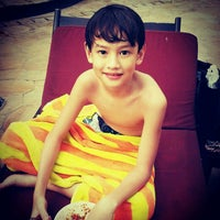 Photo taken at Swimming Pool Kristal Hotel by Hetty G. on 3/3/2013