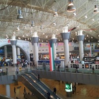 Photo taken at Kuwait International Airport (KWI) by Ali S. on 2/12/2013