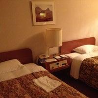 Photo taken at Sheraton Miyako Hotel, Osaka by Liliana C. on 9/19/2012