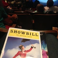Photo taken at Disney's MARY POPPINS at the New Amsterdam Theatre by Jose S. on 2/24/2013