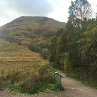 Photo taken at Glencoe Visitors Centre by Eily C. on 10/22/2015