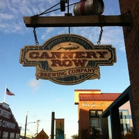 Photo taken at Cannery Row Brewing Company by Travis M. on 3/27/2013