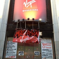 Photo taken at Virgin Megastore by Svetlana E. on 6/16/2013