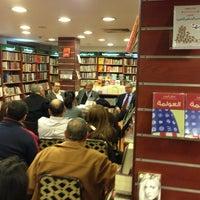 Photo taken at El Sherouk Bookstore by Tarik S. on 2/11/2013