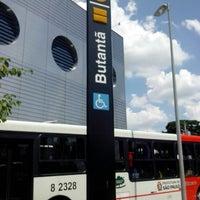 Photo taken at Estação Butantã (Metrô) by Jose Henrique C. on 2/14/2013