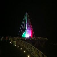 Photo taken at Playa de los Muertos by Free World Wifi -. on 1/23/2013