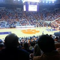 Photo taken at Littlejohn Coliseum by Tripp A. on 3/1/2013