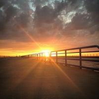 Photo taken at St. Joseph South Pier (at Silver Beach) by Chris B. on 6/13/2014
