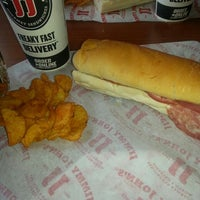 Photo taken at Jimmy John's by Marie R. on 1/2/2014