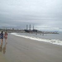 Photo taken at Praia da Penha by Anna M. on 1/26/2013