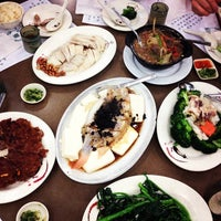 Photo taken at Kam Ho Restaurant by Nancy W. on 1/25/2014