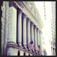 Photo taken at NYSE Euronext by Brendon B. on 4/7/2013