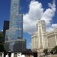 Photo taken at Chicago Architecture Foundation River Cruise by Dan P. on 8/1/2013