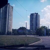 Photo taken at Площа Перемоги / Peremogy square by Екатерина on 7/8/2013