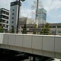 Photo taken at Matsudo Station by Jun O. on 4/25/2013