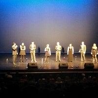 Photo taken at McCain Auditorium by Nathan C. on 4/20/2013