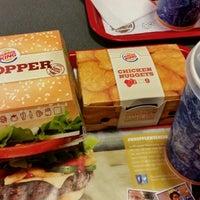 Photo taken at Burger King by Sercan C. on 12/24/2014