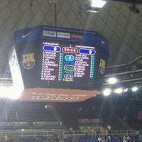 Photo taken at Palau Blaugrana by Oscar R. on 9/28/2012