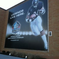 Photo taken at Pro Football Hall of Fame by Shon C. on 2/25/2013