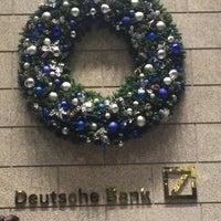 Photo taken at Deutsche Bank by Pete W. on 12/8/2015