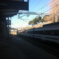 Photo taken at Cercanías Pozuelo by Kata E. on 12/26/2013
