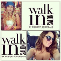 Photo taken at Walk In Salon by Robert Cromeans by Lala L. on 10/7/2013