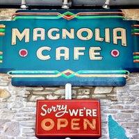 Photo taken at Magnolia Cafe by Jeremi K. on 3/10/2013