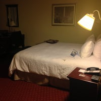 Photo taken at Hampton Inn & Suites Washington-Dulles International Airport by Diogenes A. on 4/25/2013