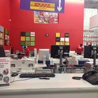 Photo taken at Office Depot Zaragoza by Luis Alvaro N. on 10/8/2013