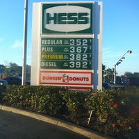 Photo taken at Hess Express by Big J. on 10/29/2012