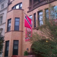 Photo taken at Embassy Of The Republic of Trinidad and Tobago by Kev M. on 10/28/2012
