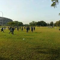 Photo taken at Stadium Mini Shah Alam by Papa Q. on 9/4/2016