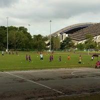 Photo taken at Stadium Mini Shah Alam by Papa Q. on 10/1/2016