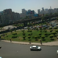 Photo taken at Sphinx Square by Mohamed R. on 3/22/2013